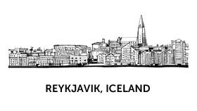 Creative team in Reykjavik Iceland