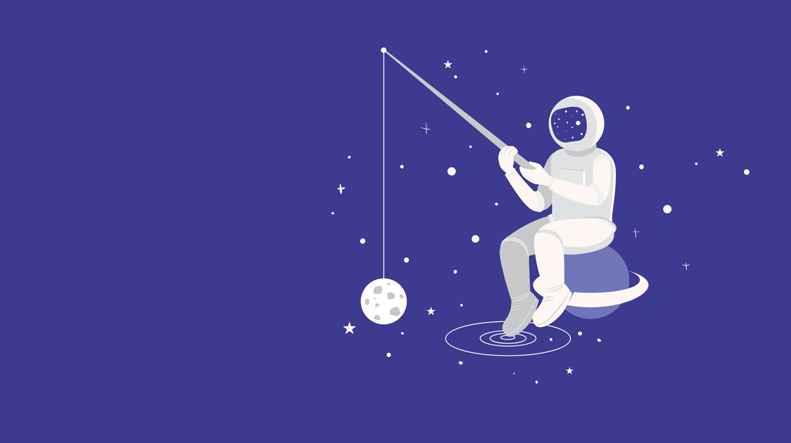 antonio and paris blog illustration spaceman fishing