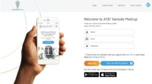 App Design ATT Karaoke Mashup